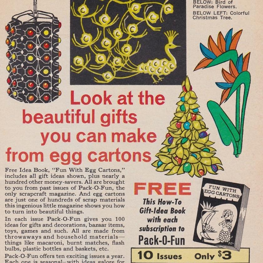 egg carton gifts